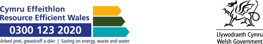 Resource Efficient Wales logo
